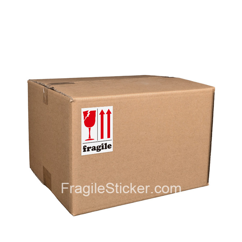 易碎品标签英文 fragile label stickers